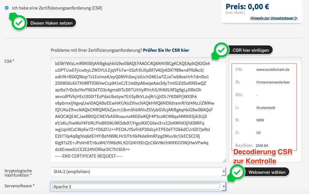 Preiswertes SSL Zertifikat beschaffen und in den Apache2 Webserver ...